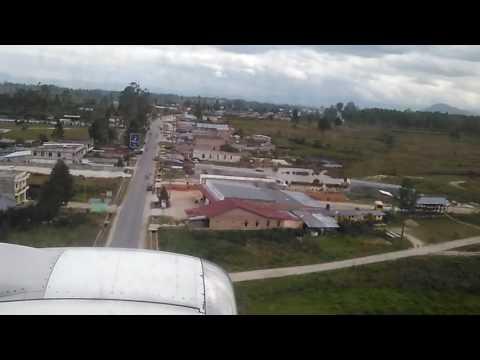 Landing to Siborong - borong Silangit