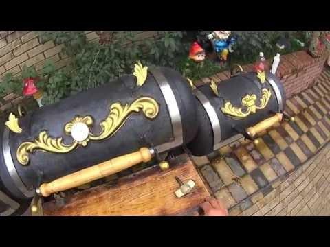 Супер гриль мангал барбекю коптильня из газового баллона 2 (Дневник рыболова) Super Smoker