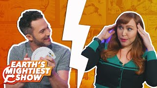 Magician Justin Willman practices the mystic arts at Marvel Headquarters