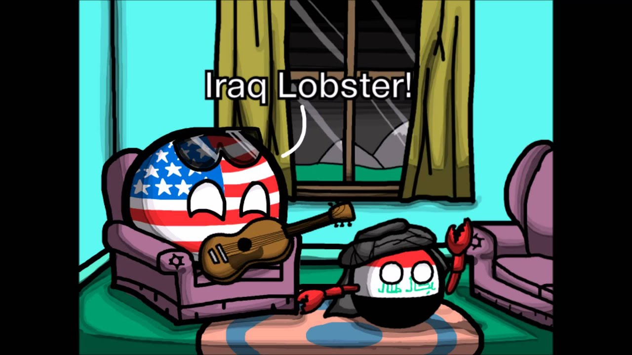 Iraq Lobster (Polandball Animation Test) - YouTube