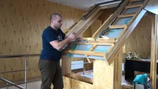 видео Мансардное окно FAKRO FTS-V U2