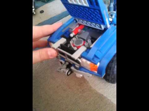 Todoterreno De Lego Azul 4x4 Youtube