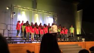 Choir glee remix shrek hallelujah