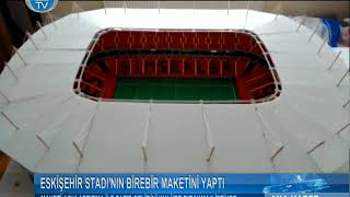 Eski Eihr Ataturk Stad 39 N N Birebir Maketini Yapt