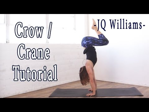 Crow and Crane Yoga Poses ~ Arm Balances with JQ