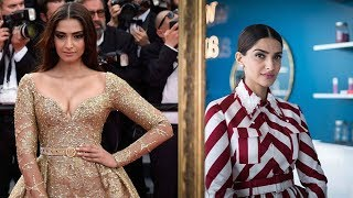 Sonam Kapoor Ahuja's appearances in cannes