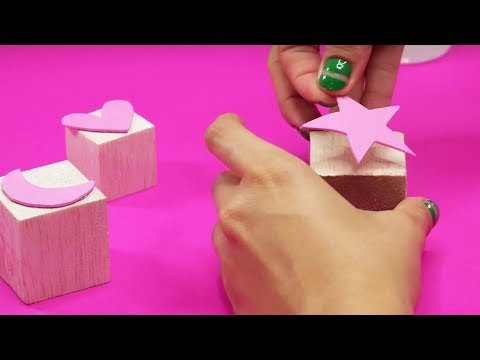 HOW TO MAKE WOOD BLOCK STAMPS THE EASY WAY - EZPZ Ideas