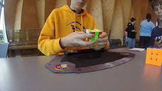 6.77 Rubik's Cube UK National Record Average [1st place at NZ SIC 2021]