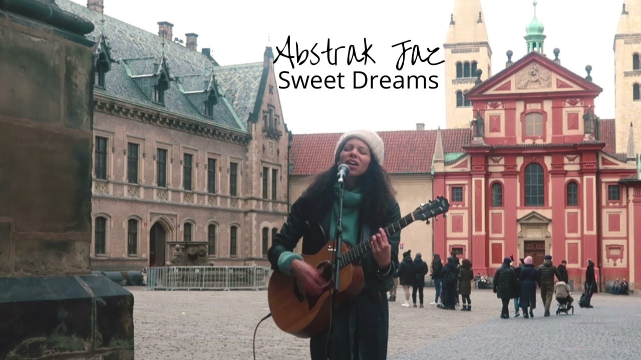 Sweet Dreams (Original) from outside Prague castle