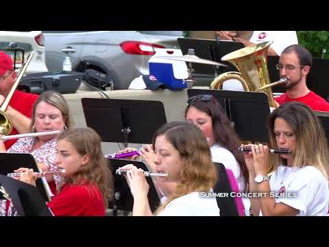Summer Concert Series:  Canfield Community Band 2018