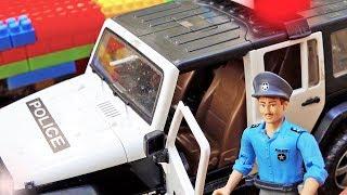 경찰차 중장비 자동차 장난감 트럭놀이 Police Ca…