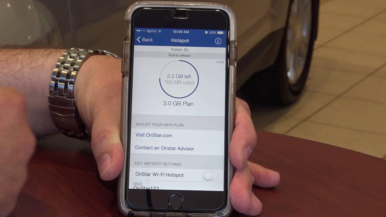 Onstar Mobile App >> Using Gm S Onstar Mobile App