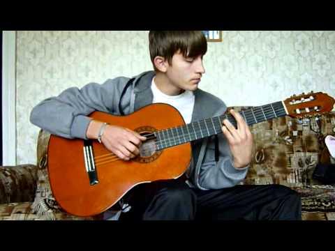 """Любэ """"сестра"""" на гитаре (в исполнении Артёма)"""