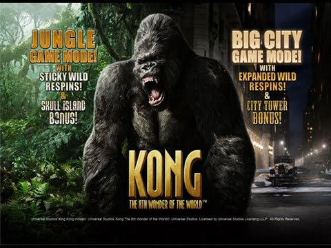 King kong online slot with low bets