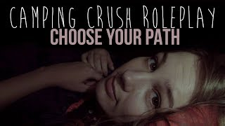ASMR Camping Crush Roleplay IX: Shiver (whisper, personal attention, crush) (for all genders)