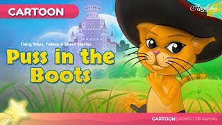 Puss in Boots Kids Story | Fairy Tales Bedtime Stories for Kids