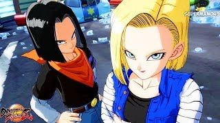 Dragon Ball FighterZ: Android 18/16, Piccolo & Krillin Gameplay Reveal! + New Story Mode Teaser