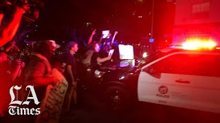 Protesters March in L.A. after Breonna Taylor Decision