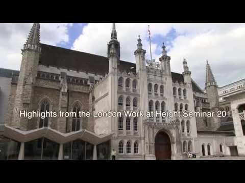 London Work at Height Seminar 2016