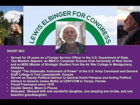 Lewis Elbinger US Representative Candidate in California District 1 Interview