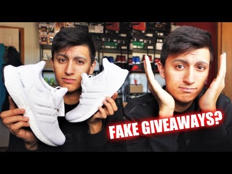 Download Youtube: ADIDAS ULTRABOOST 4.0 UNBOXING! ARE MY SNEAKER GIVEAWAYS FAKE? (VLOG)