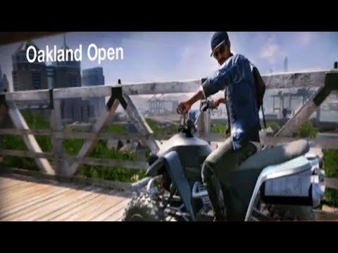 Watch Dogs 2 - Motocross Races - Oakland Open | Free Roam Gameplay (PC HD) [1080p60FPS]