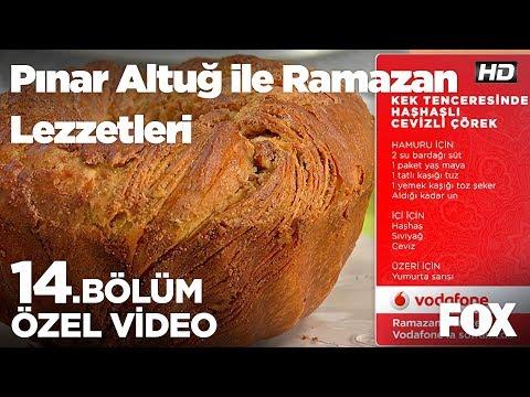 kek tenceresinde haşhaşlı cevizli çörek pınar altuğ ile ramazan lezzetleri 14.bölüm