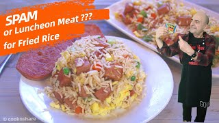 Spam Fried Rice in Under 30 Minutes