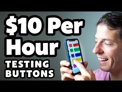 Earn Per Hour Testing Buttons With Easy Online Jobs At Home