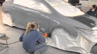 ALL GIRLS AUTO BODY REPAIR SHOP