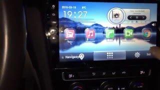 Golf 7 Android 10.1 inç kullanımı ve yol bilgisayarı anlatımı