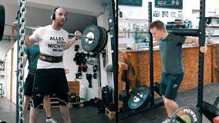 200 KG AUF DEN SCHULTERN?! POWERLIFTER VS YOKE WALK | Vlog #6