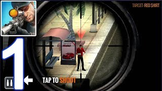 Sniper 3D Gun Shooter - Free Shooting Games - FPS - Game Play Part 1 (IOS,Android)