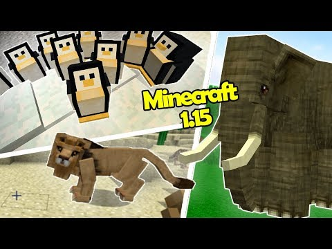 50 NEW Mobs That Mojang MIGHT Be Adding To Minecraft 1.15