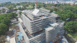 共同通信社は8日、熊本地震から1年半になるのを前に、再建に向けた作...