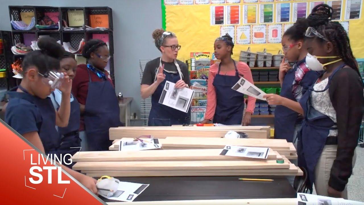 Lit Shop After-School Program   Living St. Louis   Nine Network