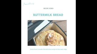 Recipe video - Buttermilk bread