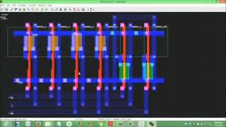 schematic and layout design using microwind part 2 of 3 by escs tech gr noida