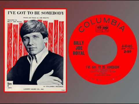 BILLY JOE ROYAL - I've Got to Be Somebody (1965) HQ Stereo!