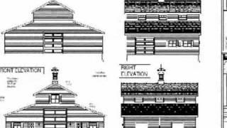 Plan#g339a 52 X 38 Barn Plan