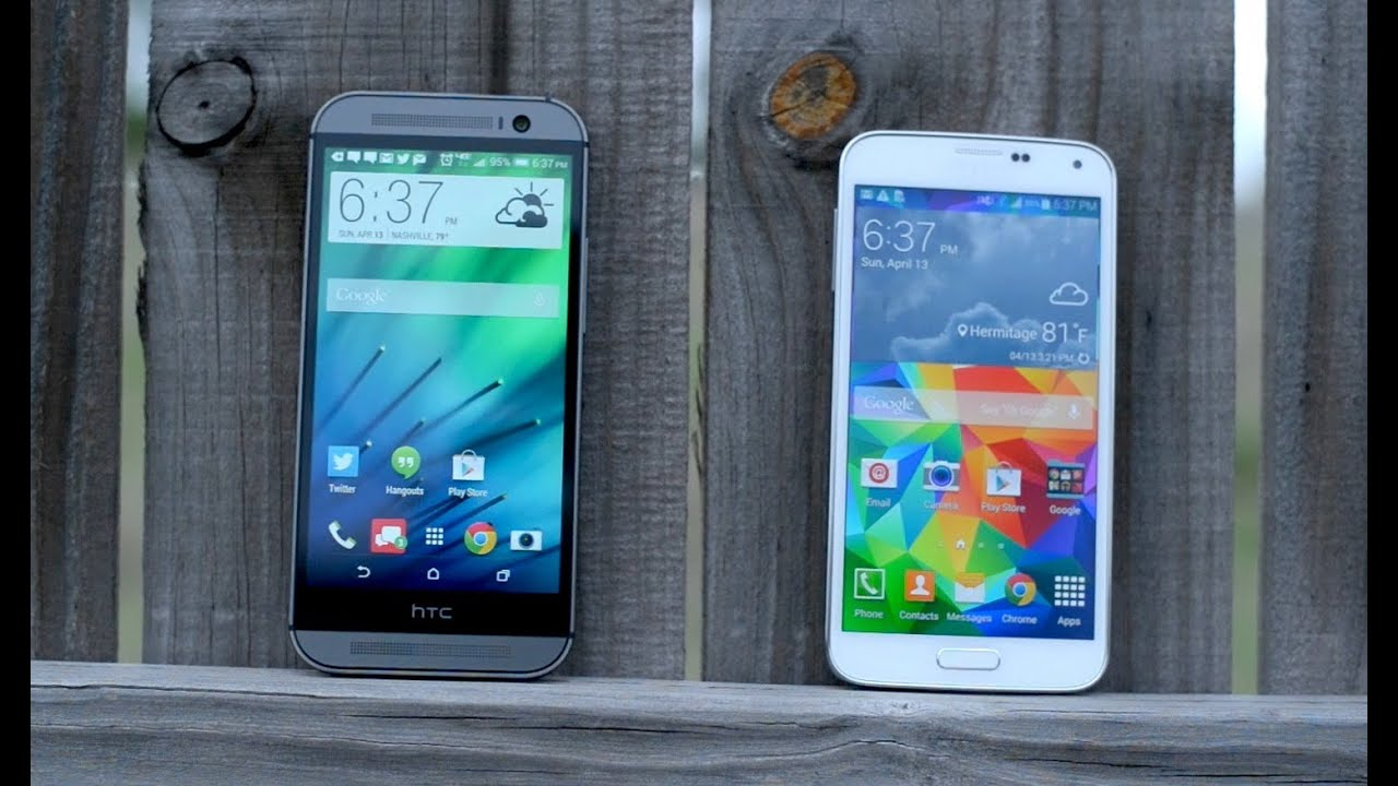 HTC One M8 vs Samsung Galaxy S5! (Review) - YouTubeHtc One Max Vs Galaxy S5