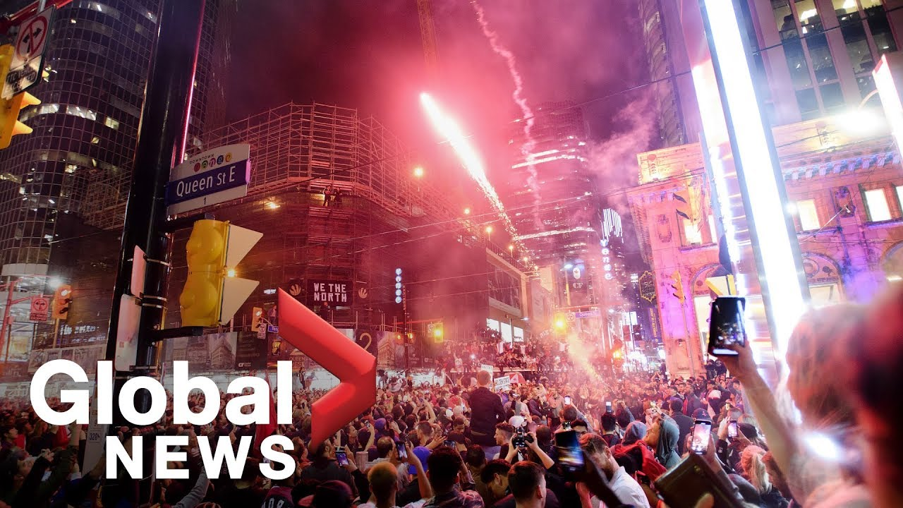 Toronto Raptors victory parade: Crowds celebrate Canada's first NBA title