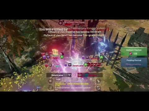 "LINEAGE 2 : REVOLUTION - 1st Fortress Siege ""IMPERIAL"" vs ""SAINT"" Aden01 English Server | 1000Suns"