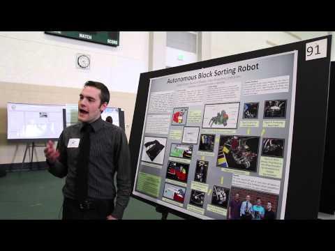 UAB Expo: Autonomous Block Sorting Robot
