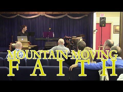 Mountain-Moving Faith - Winston Davenport (Best Sermon I