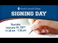 National Signing Day 2017 | South Central College - Faribault Campus