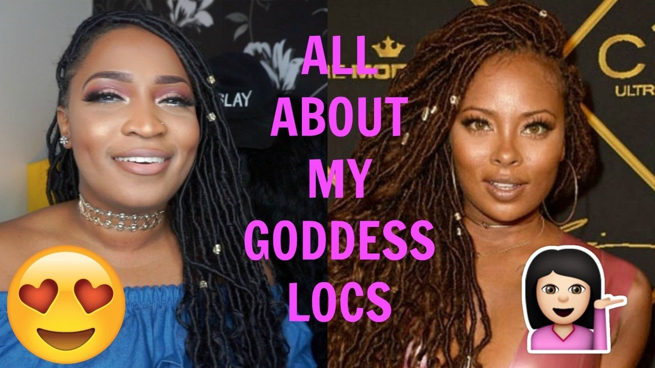 All about my goddess faux locs eva marcille meagan good inspired all about my goddess faux locs eva marcille meagan good inspired baditri Images