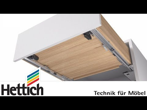 Push To Open Silent For Actro 5D Drawer Runners