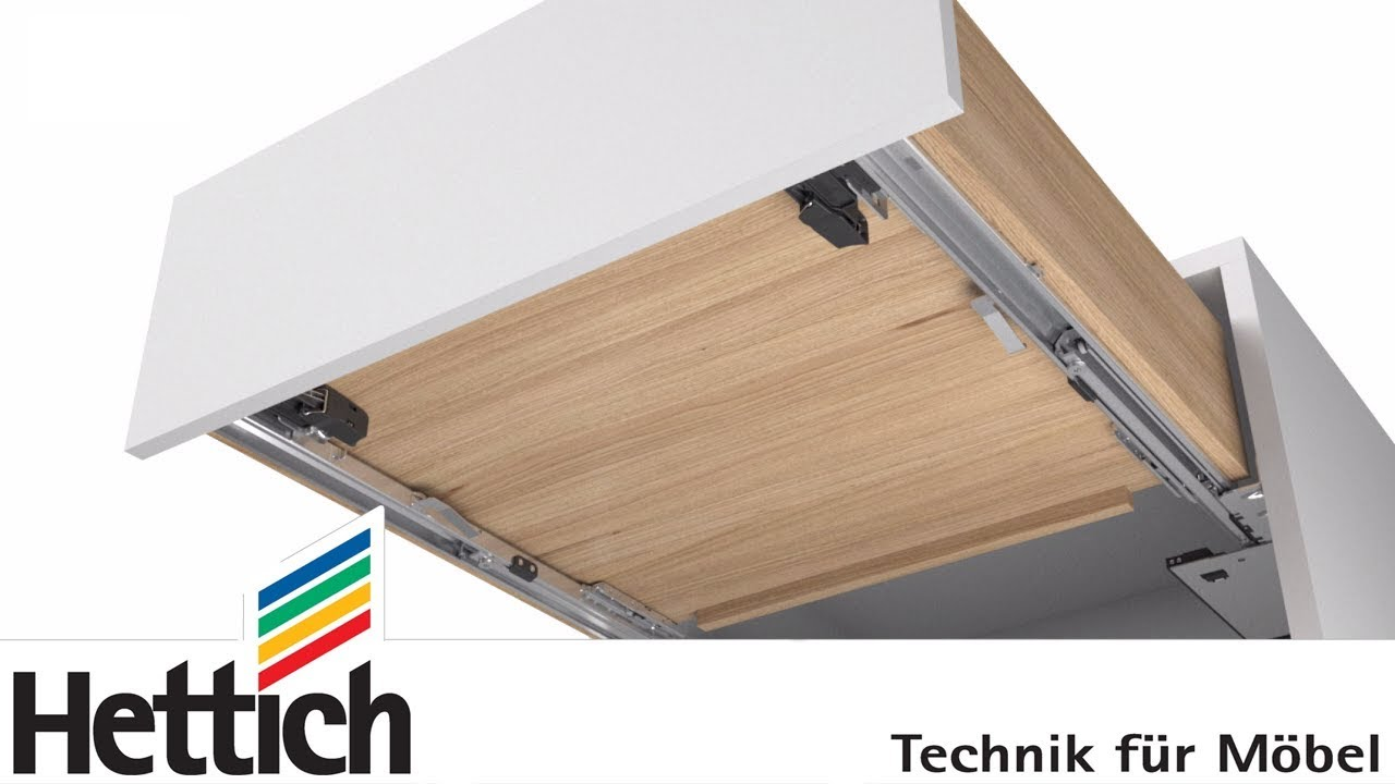 Push To Open Silent For Actro 5d Drawer Runners Doovi