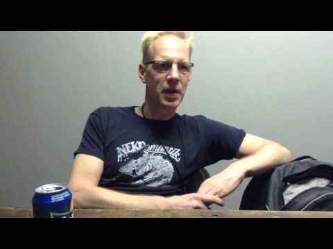 Jorg Buttgereit Interview at Housecore 2013 pt. 1